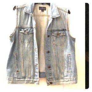 Lucky Brand Jean Vest